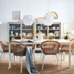 Hängelampen Ikea Wohnzimmer Stilvoller Essbereich Mit Rattansthlen Ikea Wohnzimmer Modulküche Betten 160x200 Sofa Schlaffunktion Miniküche Küche Kosten Bei Kaufen