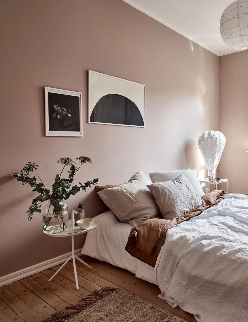 Full Size of Dusty Pink Bedroom Walls Via Coco Lapine Design Blog Gardinen Für Schlafzimmer Günstige Lampe Luxus Truhe Komplett Poco Led Komplette Stuhl Set Mit Matratze Wohnzimmer Altrosa Schlafzimmer
