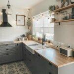 Landhauskchen Bilder Ideen Moderne Landhausküche Küche Fliesenspiegel Weisse Selber Machen Glas Weiß Gebraucht Grau Wohnzimmer Fliesenspiegel Landhausküche