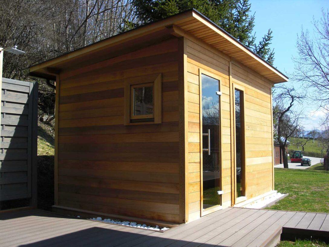 Large Size of Außensauna Wandaufbau Garten Sauna Aussensauna Deisl Gesundes Vertrauen In Holz Wohnzimmer Außensauna Wandaufbau