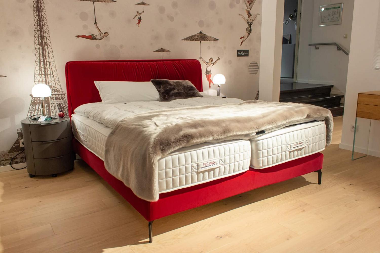 Full Size of Treca Polsterbett Madeleine Inkl Matratzen Ausstellungsstck Lp Betten 200x220 Bett Wohnzimmer Polsterbett 200x220