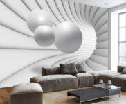 Tapeten Wohnzimmer Ideen