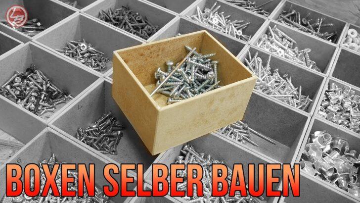 Medium Size of Kleinteileaufbewahrung Selber Machen Ordnung In Der Werkstatt Schubladeneinsatz Küche Stecksystem Regal Wohnzimmer Schubladeneinsatz Stecksystem