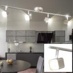 Deckenlampen Küche Led Deckenlampe Mit Vier Beweglichen Spots Fr Ihre Kche Etc Shop Essplatz Moderne Landhausküche Nischenrückwand Sideboard Wohnzimmer Deckenlampen Küche