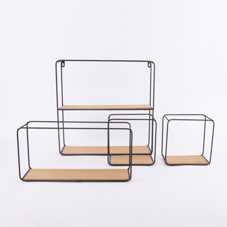 Medium Size of Regalwürfel Metall Regal 4er Set Viereckig Schwarz Verschiedene Gren Regale Bett Weiß Wohnzimmer Regalwürfel Metall