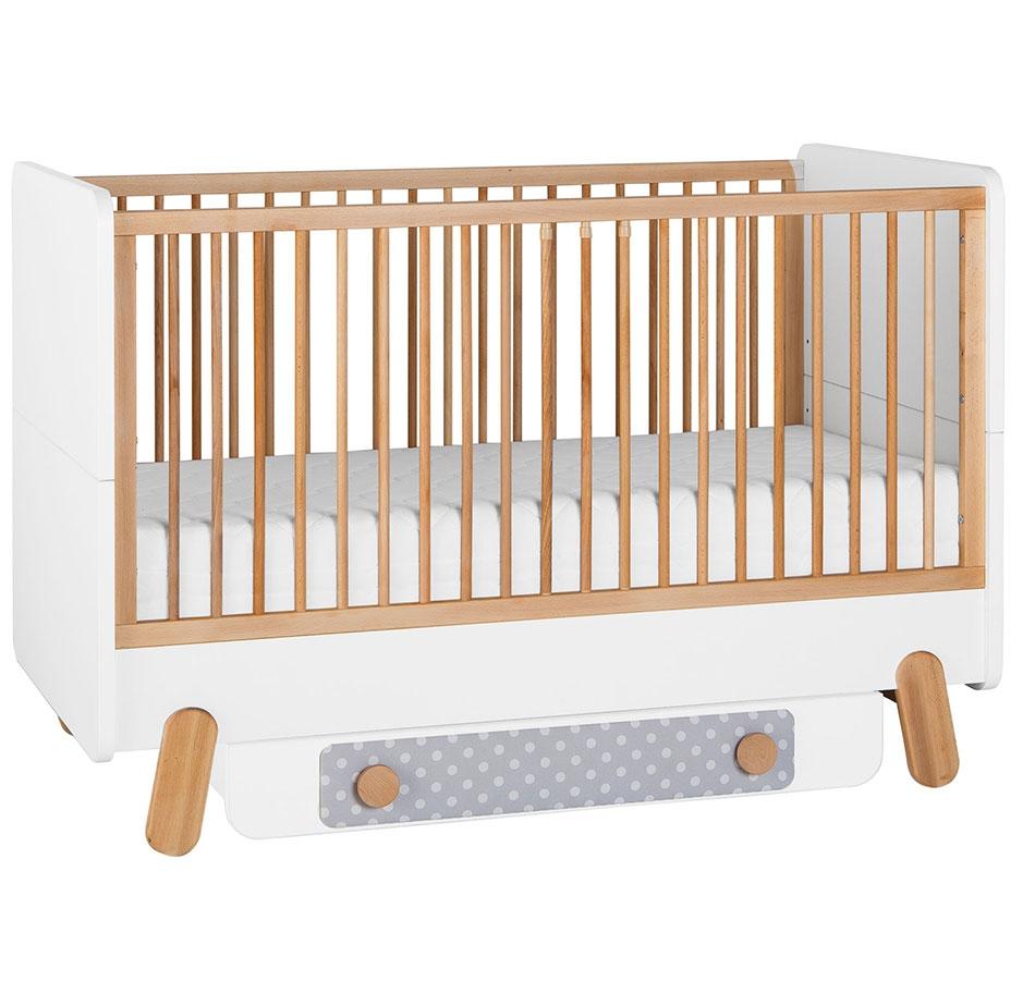 Full Size of Babyzimmer Kinderzimmer Dotty Zum Tollen Preis Bett Schwarz Weiß 180x200 Schwarzes Schwarze Küche Wohnzimmer Babybett Schwarz