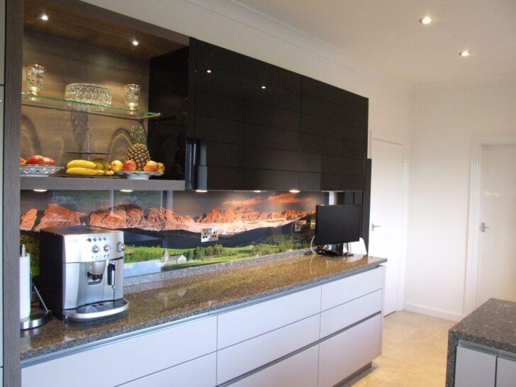 Medium Size of Glasbild 120x50 Glasbilder Kche Peperoni Nach Ma Gro Bad Holz Küche Wohnzimmer Glasbild 120x50