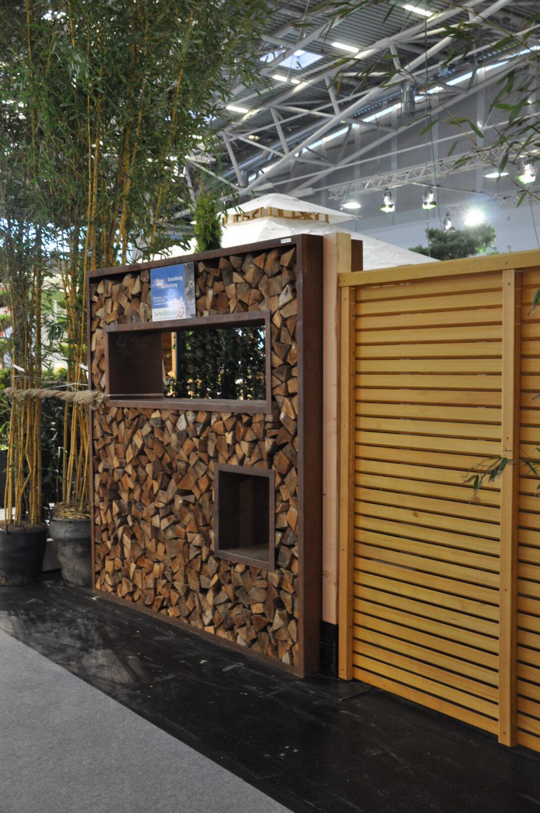 Large Size of Holzlege Cortenstahl Sichtschutz Aus 2 M Bronder Wohnzimmer Holzlege Cortenstahl