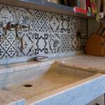Splbecken Stein Naturstein Travertin Led Panel Küche Aluminium Verbundplatte Sideboard Mit Arbeitsplatte Billige Selbst Zusammenstellen Einhebelmischer Holz Wohnzimmer Waschbecken Küche Weiß
