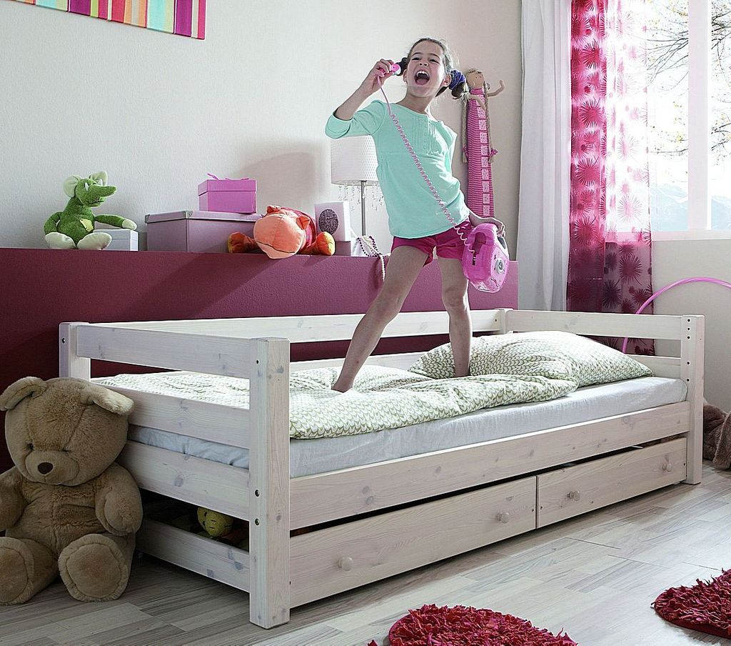 Full Size of Bett Mit Bettkasten 90x200 Betten Lattenrost Schubladen Weiß Weißes Und Matratze Kiefer Wohnzimmer Jugendbett 90x200