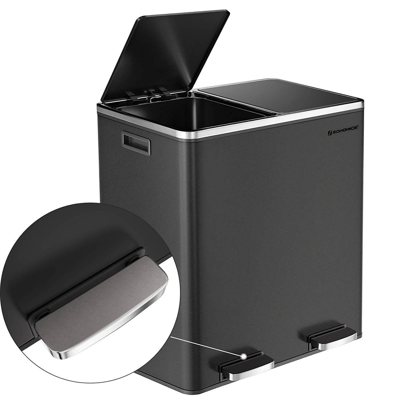Full Size of Schwarze Mlleimer Moderne Abfalleimer Vergleichen Doppel Mülleimer Küche Doppelblock Einbau Wohnzimmer Doppel Mülleimer