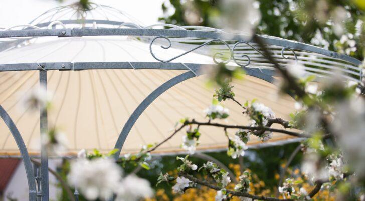 Medium Size of Pavillon Metall Rund Runde Pavillons Aus Hochwertiges Schmiedeeisen Regal Weiß Sri Lanka Rundreise Und Baden Esstisch Mit Stühlen Runder Ausziehbar Garten Wohnzimmer Pavillon Metall Rund