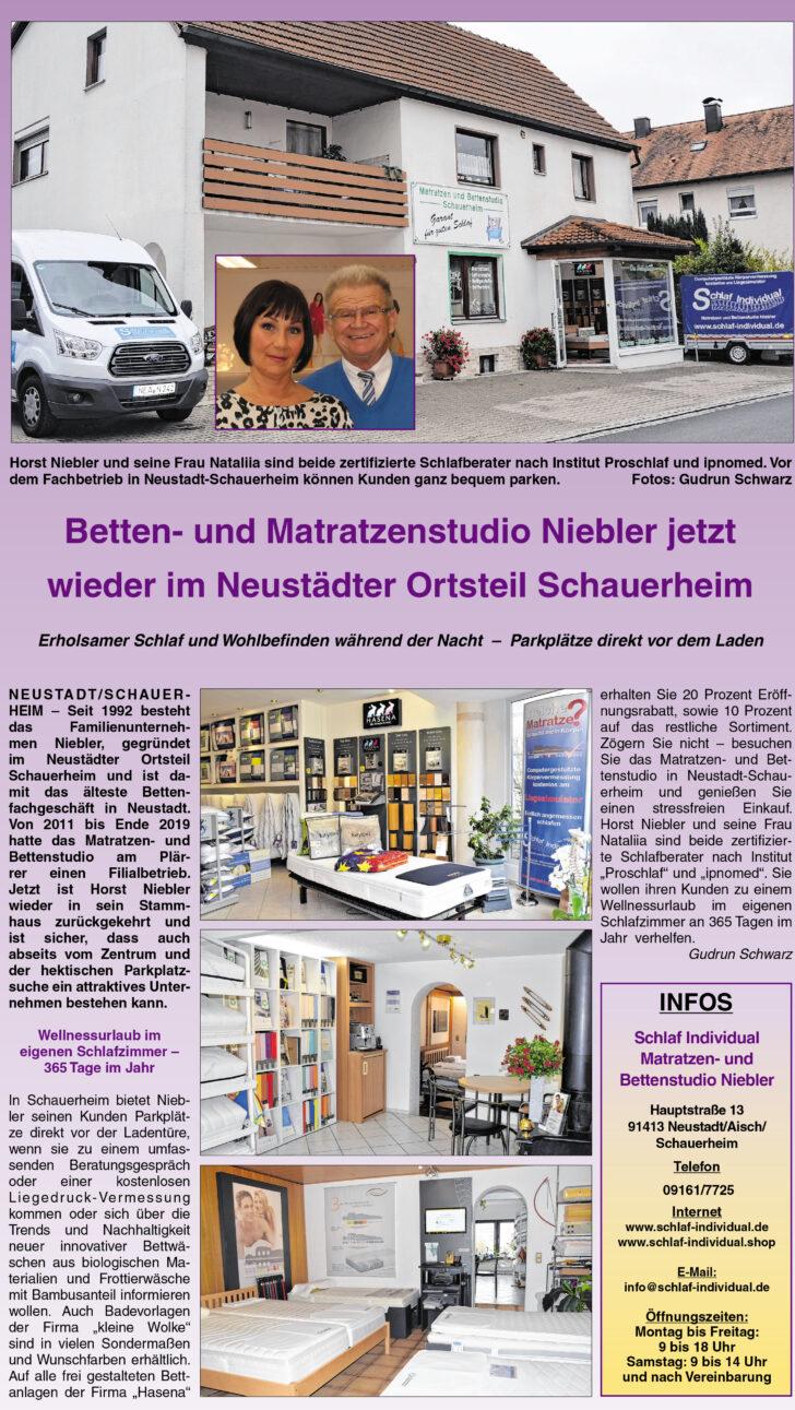 Medium Size of Schlaf Individual Matratzen Und Bettenstudio Niebler Startseite Betten München Sofa Wohnzimmer Schlafstudio München