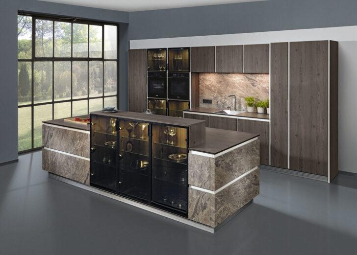 Medium Size of Nolte Küchen Glasfront Kchenfronten Trends 2018 Fronten Aus Glas Betten Küche Schlafzimmer Regal Wohnzimmer Nolte Küchen Glasfront