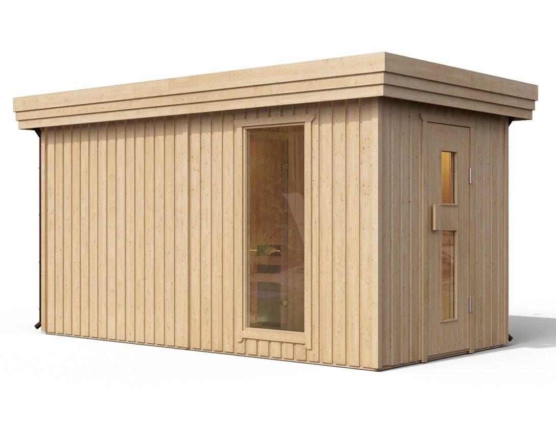 Large Size of I Premium Gartensauna Fagus Von Isidor Mit Holz Saunaofen Troll Wohnzimmer Außensauna Wandaufbau