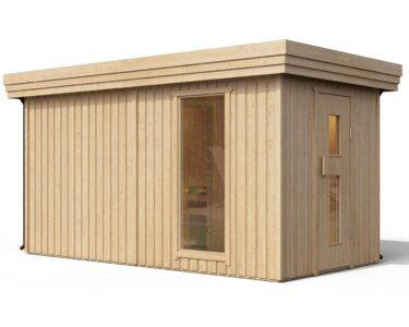 Außensauna Wandaufbau Wohnzimmer I Premium Gartensauna Fagus Von Isidor Mit Holz Saunaofen Troll