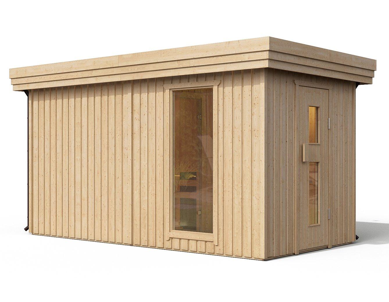 Full Size of I Premium Gartensauna Fagus Von Isidor Mit Holz Saunaofen Troll Wohnzimmer Außensauna Wandaufbau