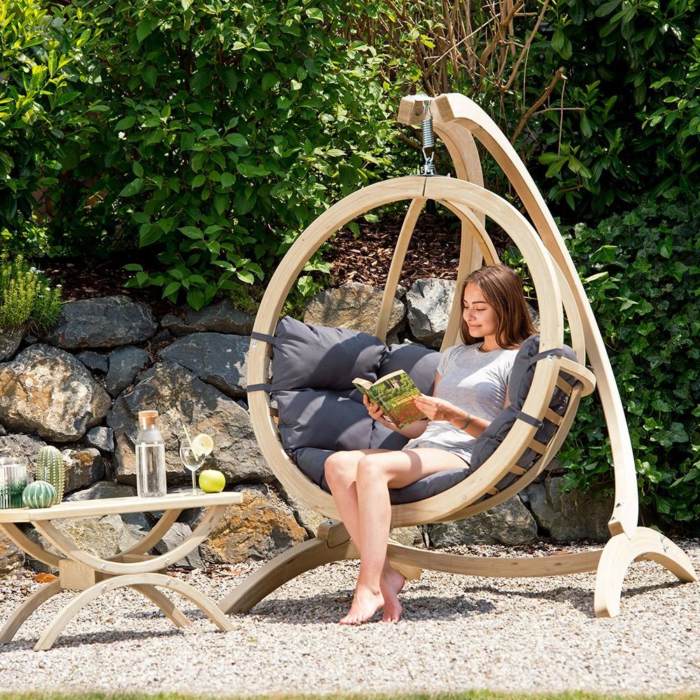 Full Size of Amazonas Hngesessel Globo Chair In Anthrazit Und Wetterfest Relaxsessel Garten Kinderschaukel Klapptisch Beistelltisch Liege Schaukel Für Rattenbekämpfung Im Wohnzimmer Hängesessel Garten Wetterfest