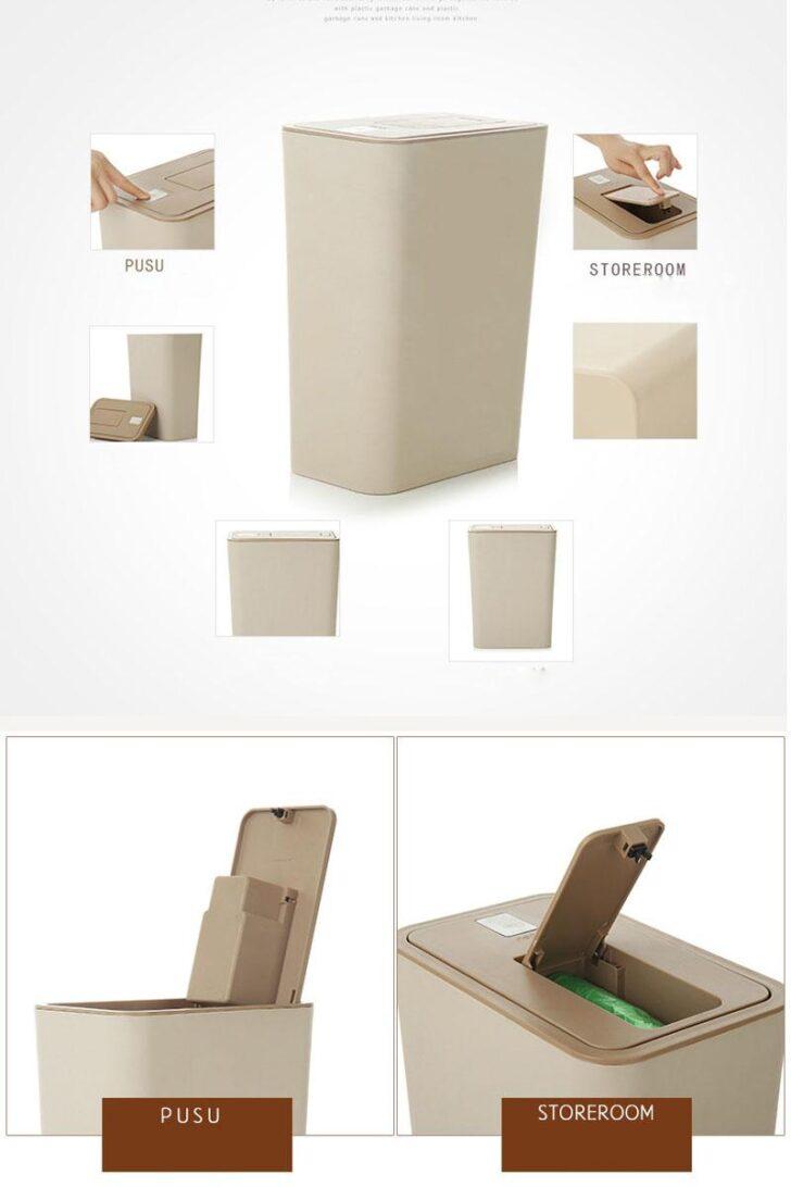 Medium Size of Küchenabfalleimer Creative 10l Double Cap Mit Mllsack Aufbewahrungsbox Wohnzimmer Küchenabfalleimer