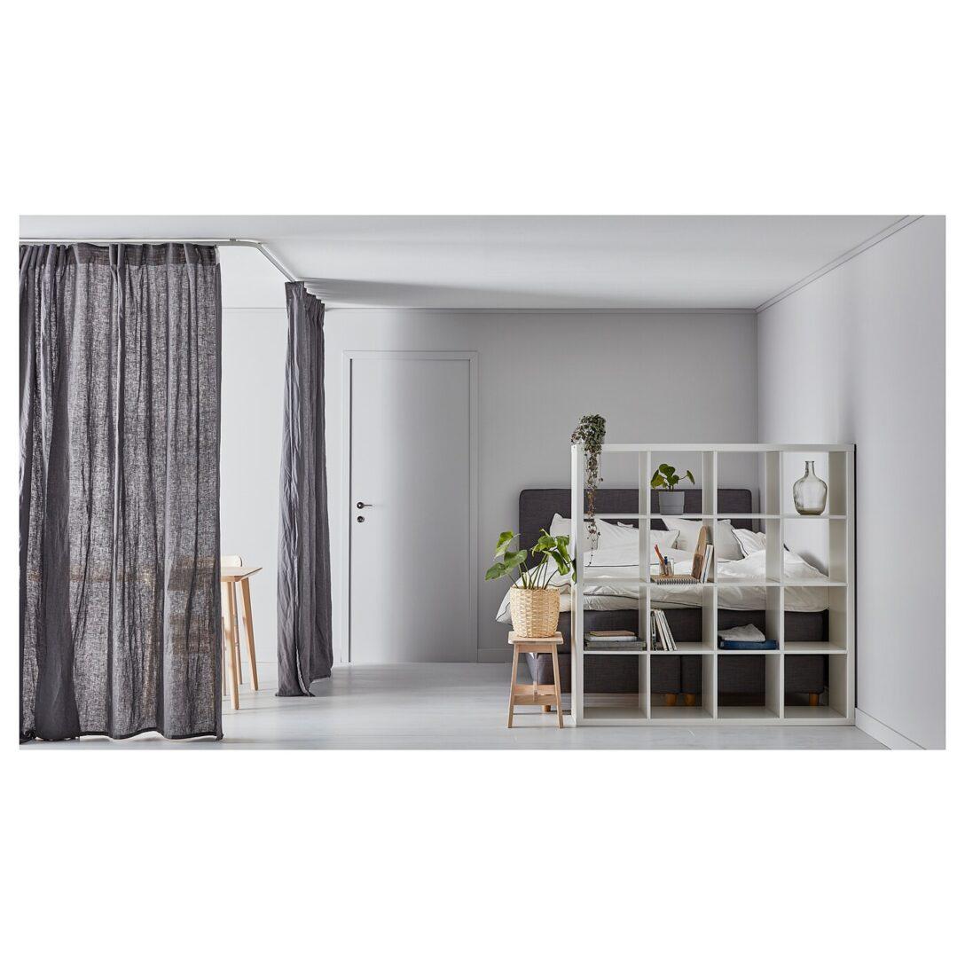 Large Size of Kallaregal Quadratisch Auch Als Raumteiler Praktisch Ikea Betten 160x200 Küche Kosten Bei Sofa Mit Schlaffunktion Glastrennwand Dusche Trennwand Garten Kaufen Wohnzimmer Trennwand Ikea
