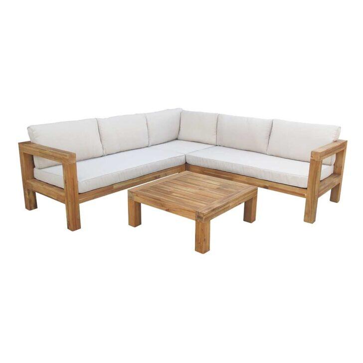 Medium Size of Outliv Loungemöbel Stockton Loungeecke 4 Teilig Akazie Polster Garten Und Holz Günstig Wohnzimmer Outliv Loungemöbel