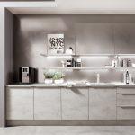 Küchen Quelle Wohnzimmer Küchen Quelle Moderne Einbaukche Norina 2371 Beton Grau Nachbildung Kchenquelle Regal