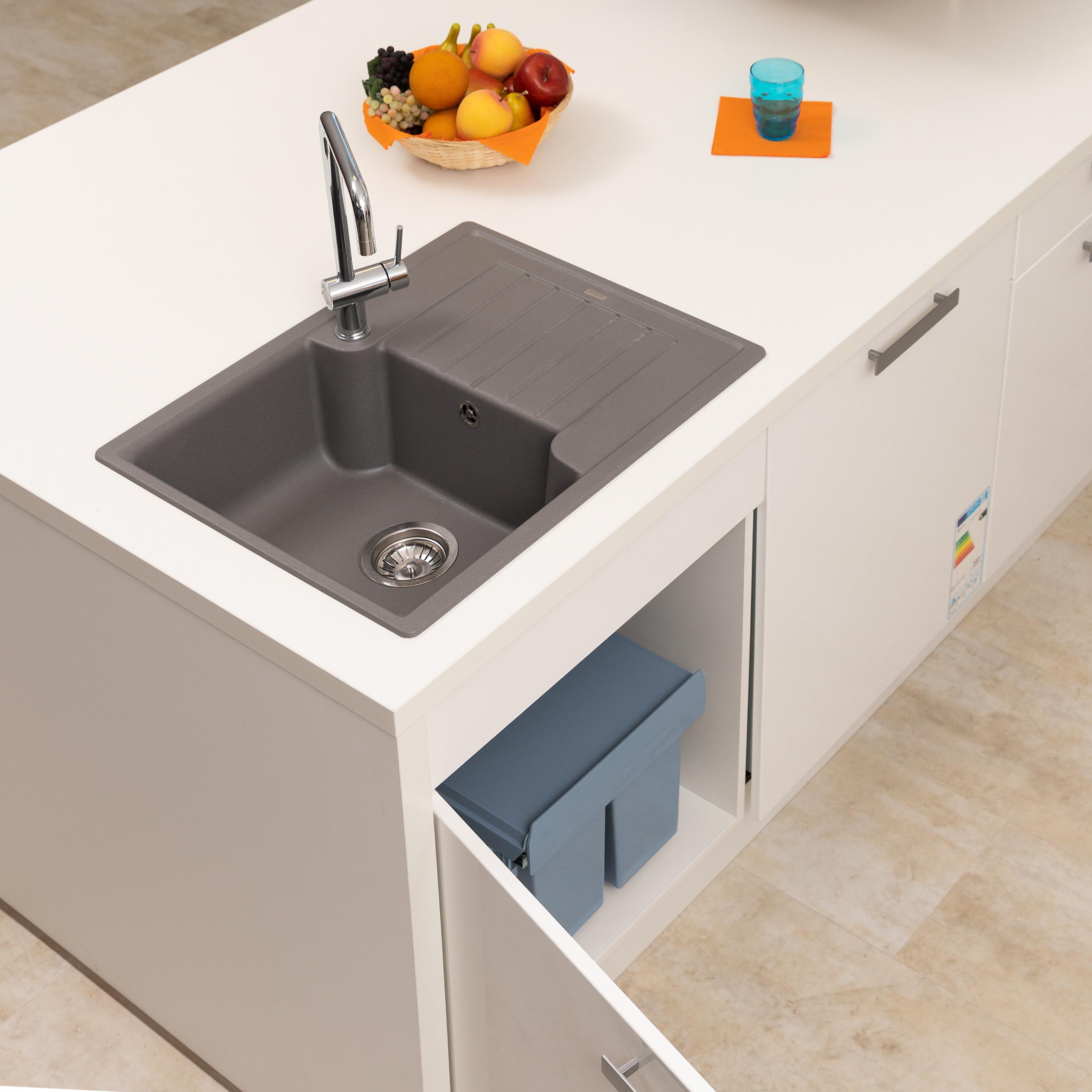Full Size of Einbaumlleimer Kche Müllsystem Küche Wohnzimmer Müllsystem
