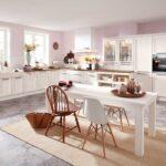 Raffrollo Kche Landhaus Blickdicht Landhausstil Schlaufen Küchen Regal Küche Wohnzimmer Küchen Raffrollo