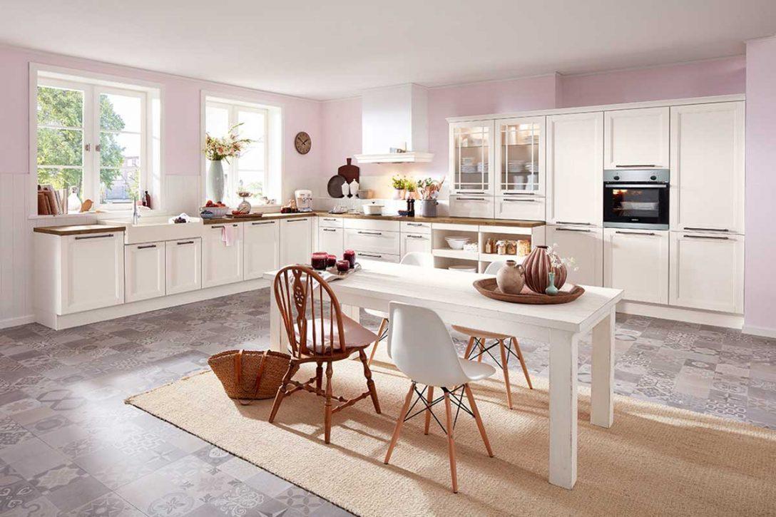 Full Size of Raffrollo Kche Landhaus Blickdicht Landhausstil Schlaufen Küchen Regal Küche Wohnzimmer Küchen Raffrollo
