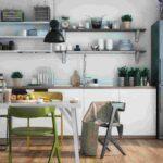 Skandinavische Kche Stilvoll Einrichten 50 Ideen Und Ispirationen Polsterbank Küche Jalousieschrank Sitzecke Deckenlampe Aufbewahrungsbehälter Wohnzimmer Küche Einrichten Ideen