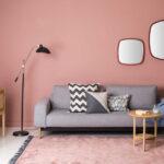 Wandfarbe Rosa Weiblichkeit Im Interieur Durch Altrosa Ausdrcken Küche Wohnzimmer Wandfarbe Rosa