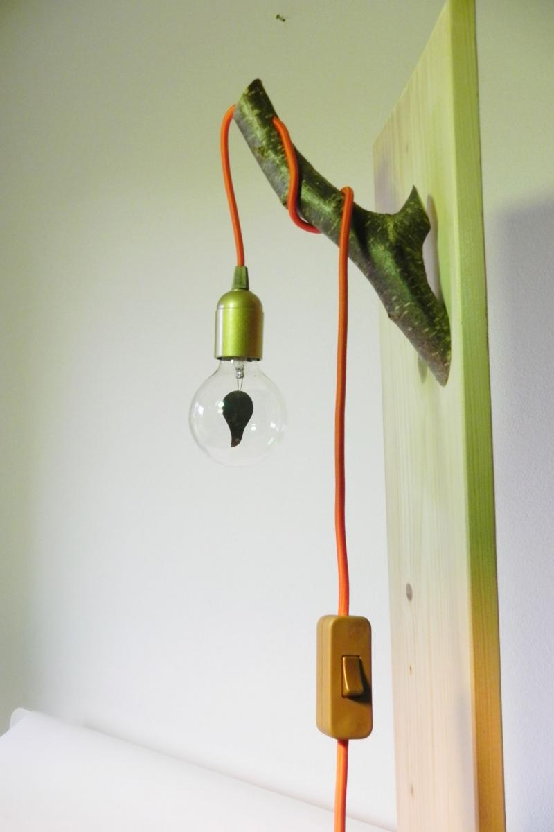 Full Size of Wandlampe Mit Schalter Holz Ast Lampe Holzlampe Baum Textilkabel Unikat Kopie Küche Insel Esstische Kleines Regal Schubladen Bett 180x200 Bettkasten Sofa Wohnzimmer Wandlampe Mit Schalter Holz