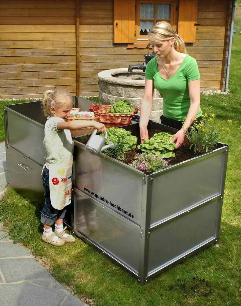 Full Size of Hochbeet Edelstahl Lifestyle Im Garten Quadro System Aus Ein Outdoor Küche Edelstahlküche Gebraucht Wohnzimmer Hochbeet Edelstahl