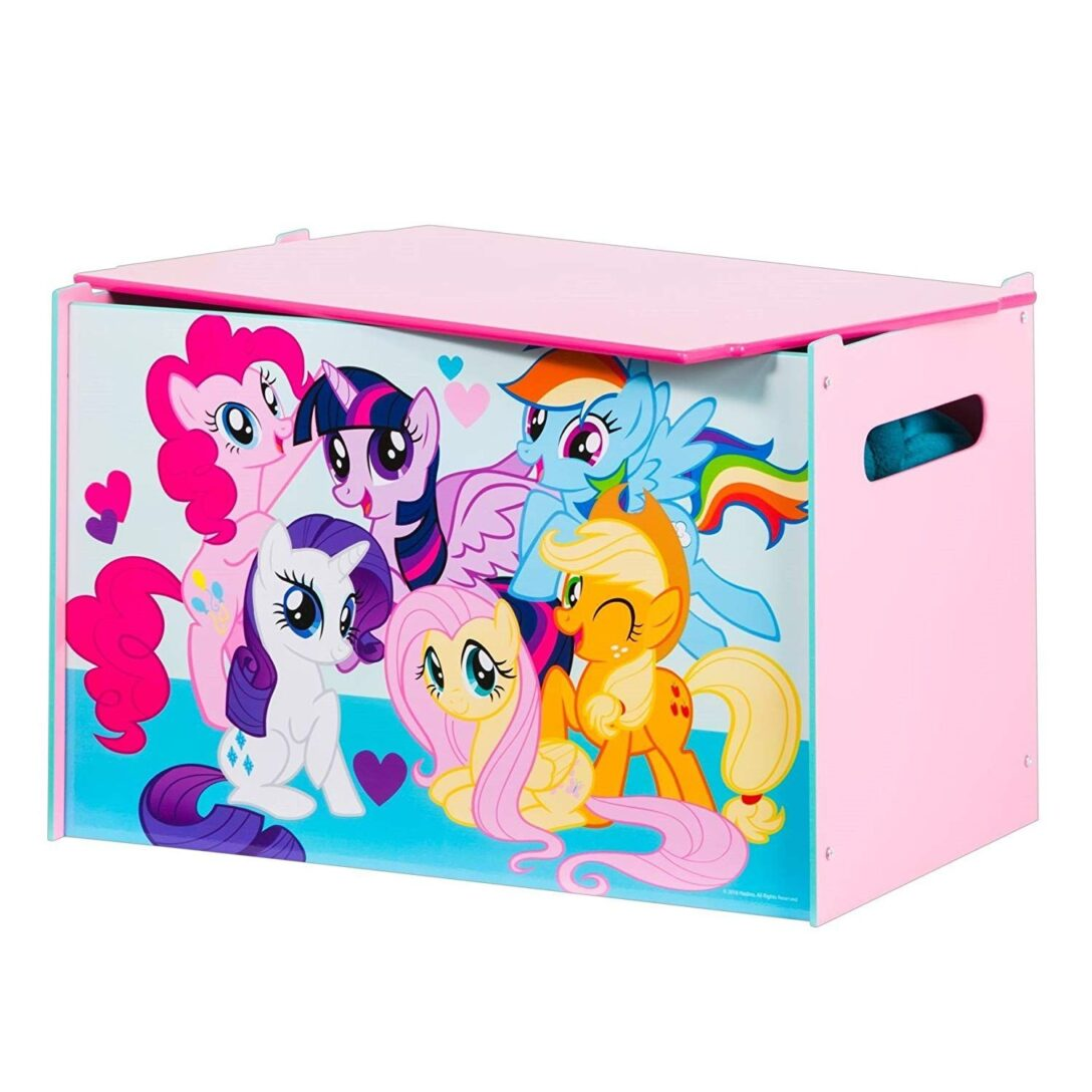 Large Size of Aufbewahrungsbox Kinderzimmer My Little Pony Spielzeugkiste Fr Aufbewahrungsbofr Sofa Regal Regale Weiß Garten Wohnzimmer Aufbewahrungsbox Kinderzimmer