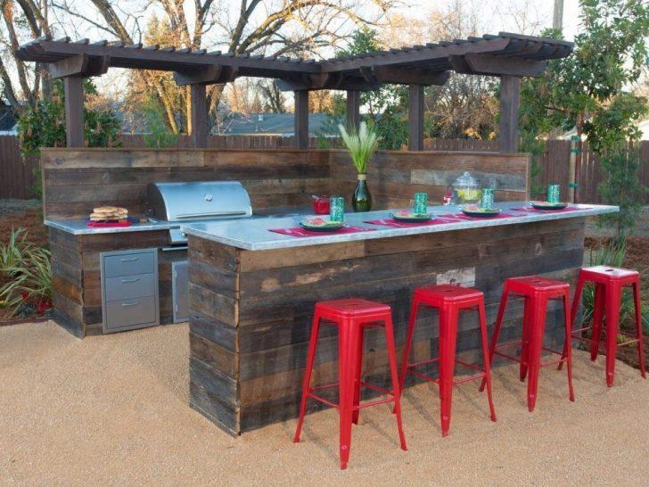 Bar Theke Aus Paletten Holz Küche U Form Mit Apothekerschrank Thekentisch Outdoor Kaufen Edelstahl Wohnzimmer Outdoor Theke