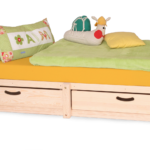 Kinderbett Stauraum Das Memphis Massivholz Ist Robust Langlebig Bett Mit 160x200 200x200 Betten 140x200 Wohnzimmer Kinderbett Stauraum