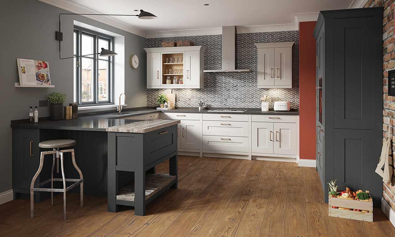 Full Size of Holzküche Auffrischen Graue Kche Welche Wandfarbe Eignet Sich Am Besten Massivholzküche Vollholzküche Wohnzimmer Holzküche Auffrischen