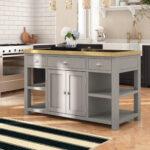 Kücheninsel Freistehend Sommerallee Kcheninsel Amelia Mit Granitplatte Wayfairde Freistehende Küche Wohnzimmer Kücheninsel Freistehend