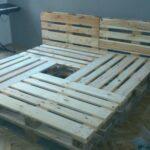 Bauanleitung Bauplan Palettenbett Paletten Bett 200x200 Wohnzimmer Bauanleitung Bauplan Palettenbett