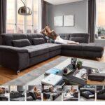Megapol Argo Konfigurator Canto Linos Spike Sofa Edge Eckgarnitur In Schwarz Mbel Letz Ihr Online Shop Fenster Regal Wohnzimmer Megapol Konfigurator