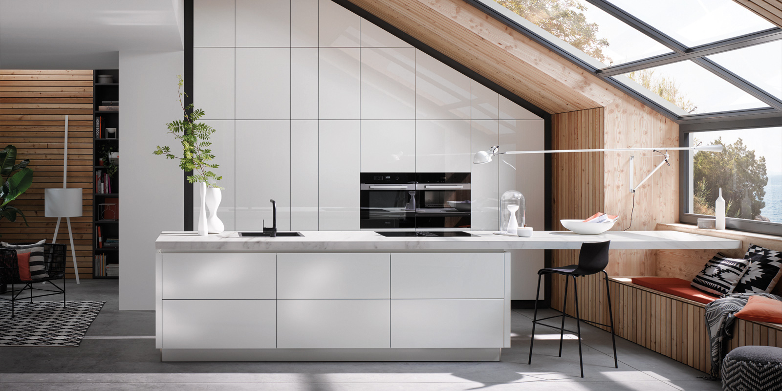 Full Size of Nischenrckwand Kche Kunststoff Rckwand Orientalisch Otto Glas Küchen Regal Wohnzimmer Real Küchen
