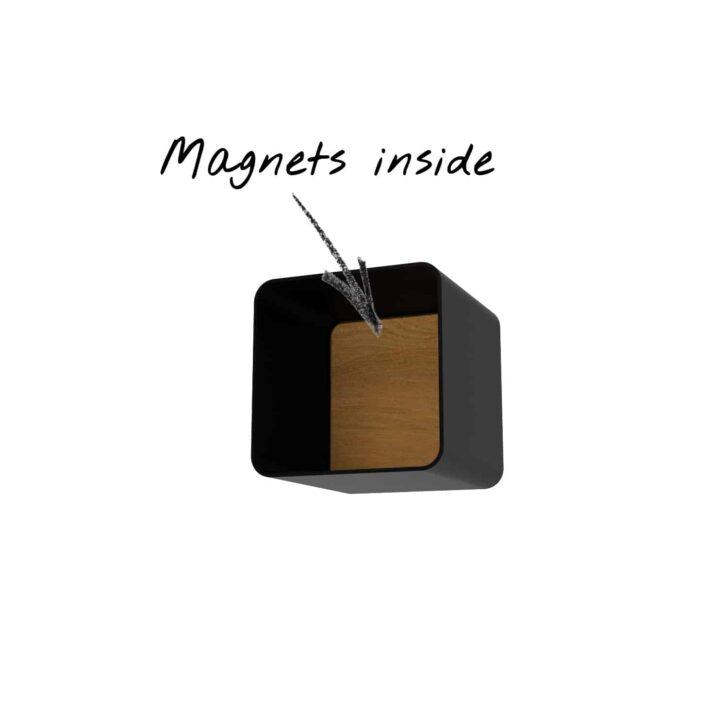 Medium Size of Wandregal Metall Schwarz Küche Magic 6 Holz Vorratsschrank Eckschrank Keramik Waschbecken Wandbelag Kaufen Tipps Schnittschutzhandschuhe L Form Alno Wohnzimmer Wandregal Metall Schwarz Küche