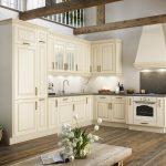 Landhaus Einbaukche Bavaria 5444 Sahara Kchenquelle Küchen Regal Wohnzimmer Küchen Quelle