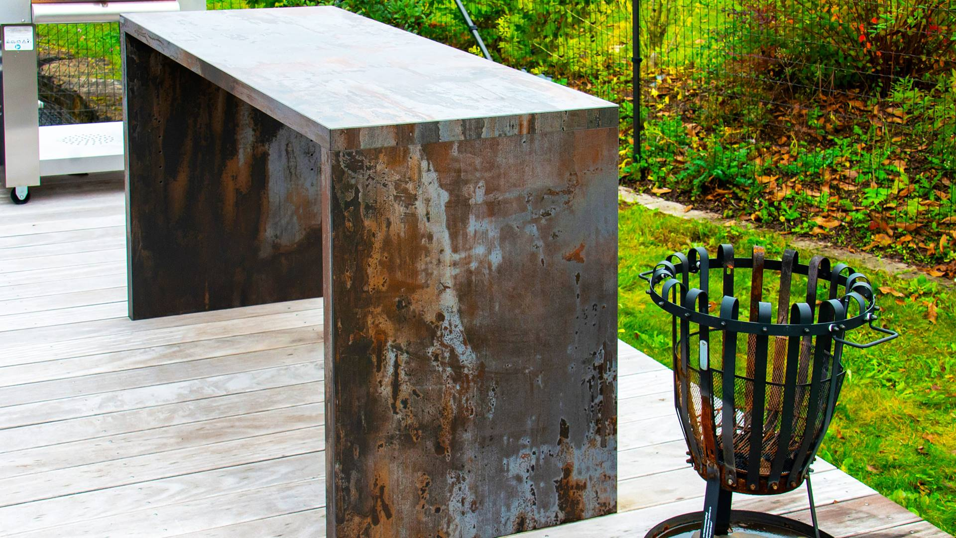 Full Size of Thekenstuhl Outdoor Thekentisch Theke Bauen Selber Apothekerschrank Küche U Form Mit Edelstahl Kaufen Wohnzimmer Outdoor Theke