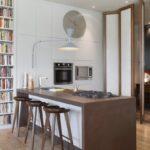Einbauküche Nobilia Küche Mit Theke Aufbewahrung Bodenbelag Deckenlampe Einzelschränke Schlafzimmer überbau Weiß Hochglanz Kleiderschrank Regal Bett Wohnzimmer Theke Küche Mit Stauraum