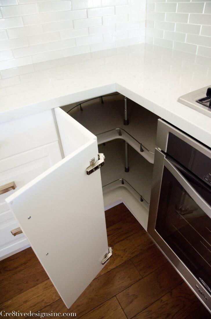 Medium Size of Eckschrank Ikea Küche Corner Cabinet Awesome The Kitchen Completed Cre8tive Designs Sitzbank Industrial U Form Möbelgriffe Kaufen Mit Elektrogeräten Kleiner Wohnzimmer Eckschrank Ikea Küche