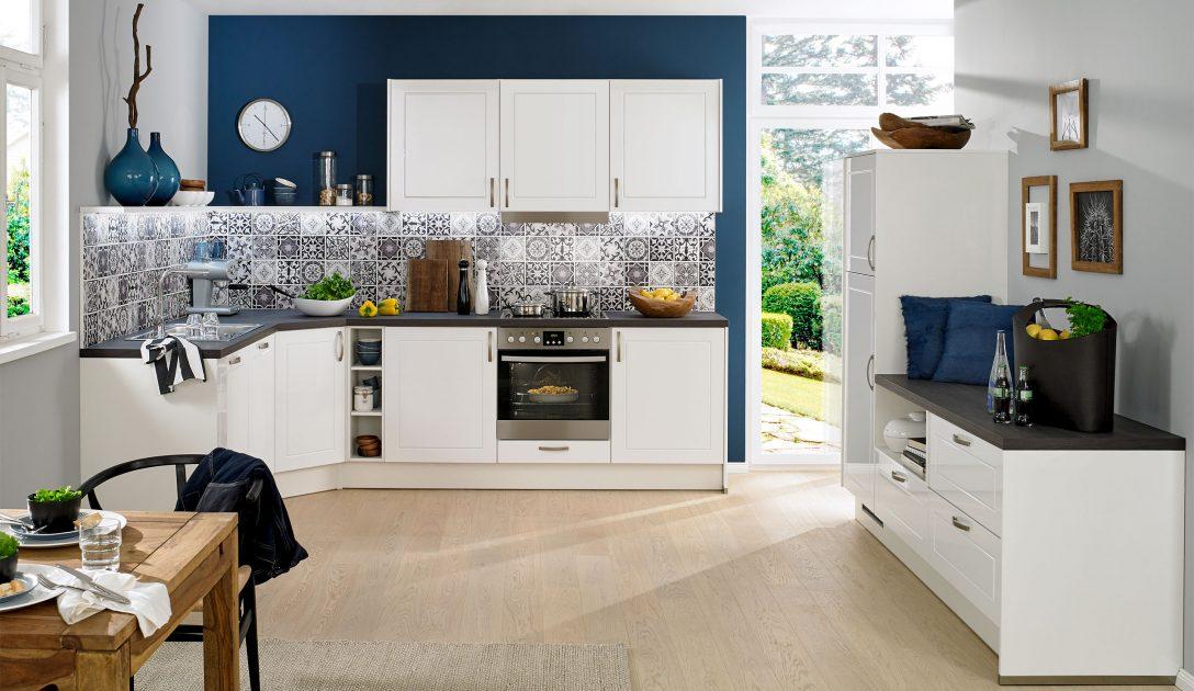 Large Size of Küchen Quelle Basic Einbaukche Pura 4475 Weiss Hochglanz Kchenquelle Regal Wohnzimmer Küchen Quelle