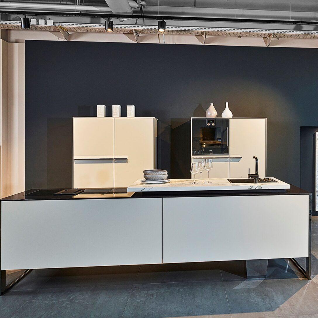 Large Size of Diese Moderne Poggenpohl Kche In Kieselgrau Matt Steht Unserer Küchen Regal Wohnzimmer Poggenpohl Küchen