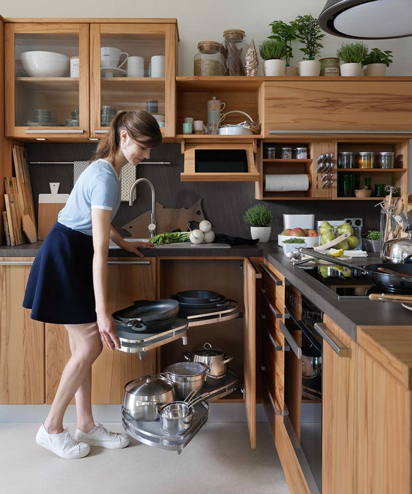 Full Size of Küche Eckschrank Einbauküche Nobilia Bad Schlafzimmer Wohnzimmer Nobilia Eckschrank