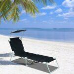 Sonnenliege Alu Klappbar Strand Liegestuhl Gartenliege Relaxliege Garten Wohnzimmer Liegestuhl Wetterfest